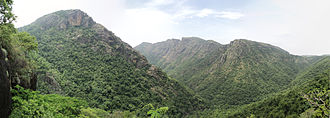 Namakkal district - Panoramic View of Kolli Hills
