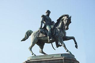 equestrian statue of Leopold I