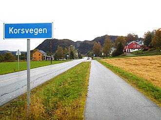 Korsvegen - View of the village
