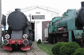 Kościerzyna - Image: Koscierzyna steam 2