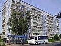 Kovrov. Public transport bus near Degtyaryov & Shuyskaya Streets crossing.jpg