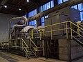 Kraftwerk Simmering Biomassekw Turbine Generator.JPG
