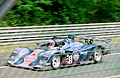 Kremer K8 - Derek Bell, Jurgen Lassig & Robin Donovan heads towards Arnage at the 1994 Le Mans (31933390006).jpg