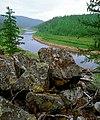 Krestjah river in Olekminsky nature reserve.jpg