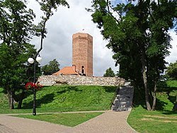 Kruszwica, Kuyavia, Poland, the Mice Tower.jpg