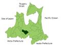 Kuroishi in Aomori Prefecture.png