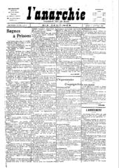 Anarquía, 1907.