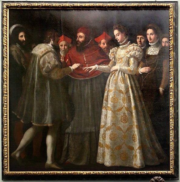 File:L'empoli, nozze di caterina de' medici con enrico II di francia, 1600.jpg