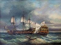 Léopold Le Guen Combat naval Le Languedoc.jpg