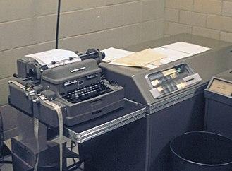 LGP-30 - An LGP-30 in use at Manhattan College in 1965