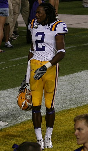 Demetrius Byrd - Byrd with the LSU Tigers