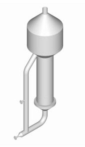 Evaporator - A rising film evaporator