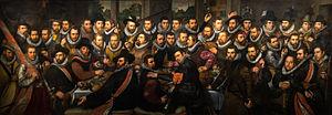 Cornelis Engelsz - Image: La Garde civique de Saint Adrien Cornelis Engelsz 1612 1