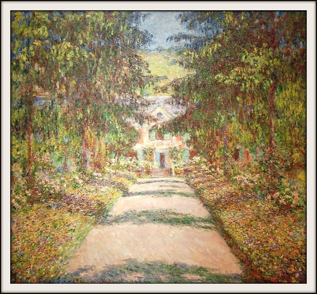 La grande allée à Giverny (musée des beaux-arts de Montréal) (4086369799)