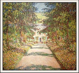 The Great Alley in Giverny