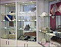 Lace Guild Museum, view of display cabinets, March 2013.jpg