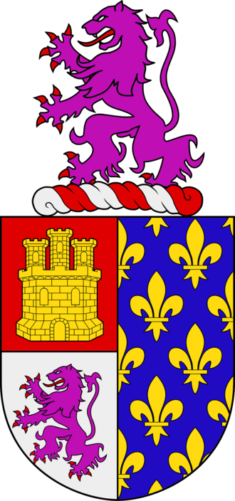 Nuno Pereira de Lacerda - Coat of Arms of Lacerda
