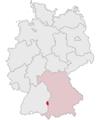 Lage des Landkreises Neu-Ulm in Deutschland.PNG