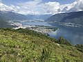 Lago Maggiore northeastward, from the Monti di Ronco, with Ascona, Locarno and Gamborogno.jpg