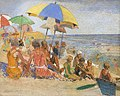 Laguna Beach, CA by William Alexander Griffith, pastel on linen .jpg