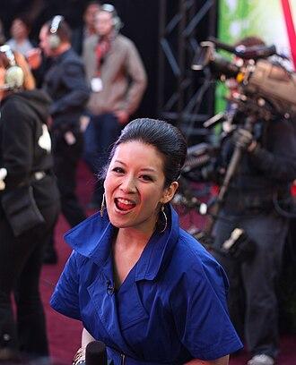 Etalk - Lainey Lui at the 2009 Juno Awards