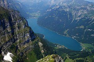 Klöntalersee - Image: Lake Klöntal