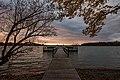 Lake Shetek Sunset, Minnesota (24007890548).jpg