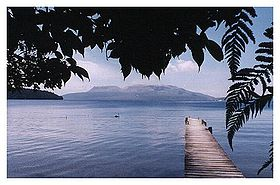 Image illustrative de l'article Lac Tarawera