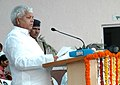 Lalu Prasad addressing at the opening ceremony of the 56th Senior National Kabaddi (Men & Women) Championship being organized by Railway Sports Promotion Board, in New Delhi on October 12, 2008.jpg
