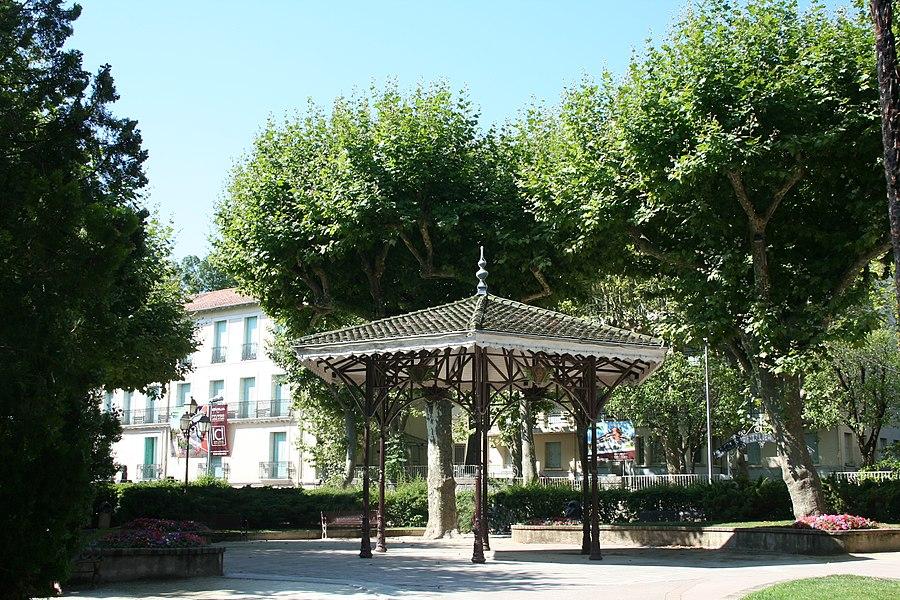 Lamalou-les-Bains - Hérault - kiosque.