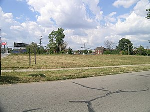 Lancaster and Waumbek Apartments - Lot where the Lancaster and Waumbek Apartments once stood