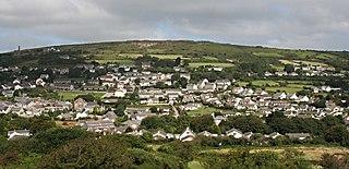 Lanner, Cornwall village and civil parish in west Cornwall