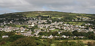 Lanner, Cornwall - Image: Lanner And Carn Marth Cornwall UK