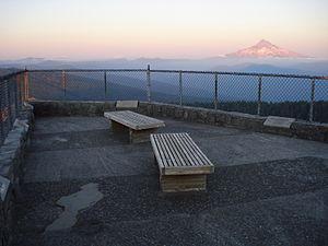 Larch Mountain (Multnomah County, Oregon) - Image: Larch Mountain