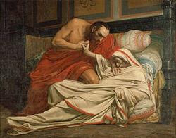 Jean-Paul Laurens: The Death of Tiberius