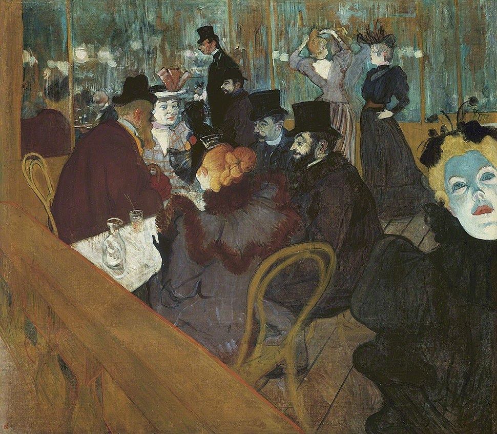 Lautrec at the moulin rouge 1892