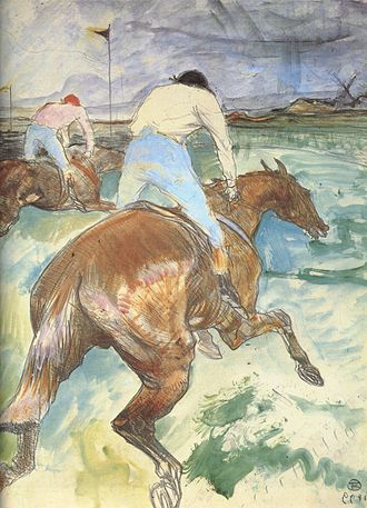 Jockey - Toulouse-Lautrec - The Jockey (1899)