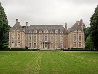 Le Fayel (Oise) Château, sa façade.JPG