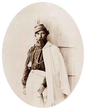 István Türr - General István Türr in Palermo, during the 1860 Expedition of the Thousand (photo by Gustave Le Gray).