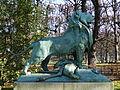 Le Lion de Nubie et sa proie by Auguste Cain, Paris 2012 01.jpg