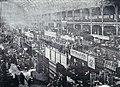 Le troisième Salon du cycle de Paris, en décembre 1895 au Palais de l'Industrie.jpg