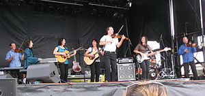 Leahy - Leahy in concert at the Fergus Scottish Festival in 2009