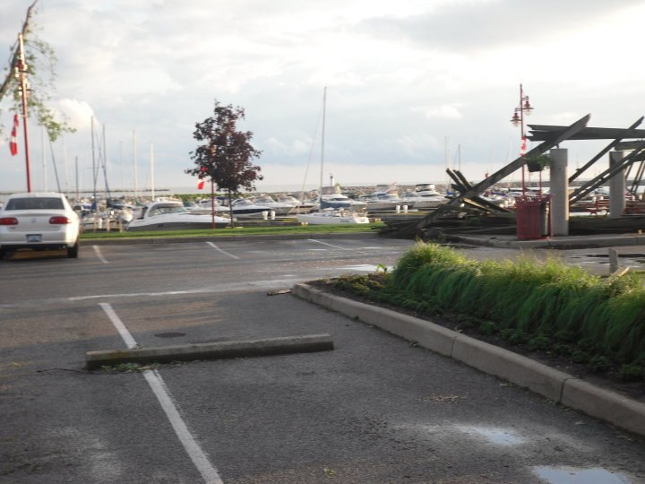 Leamington Marina Damage from 2010 tornado
