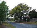 Leaving Town - A1077 Ferriby Road - geograph.org.uk - 1530603.jpg