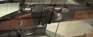 Lebel Model 1886 rifle - Lebel rifle breech portion