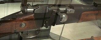 Lebel Model 1886 rifle - Lebel rifle breech portion
