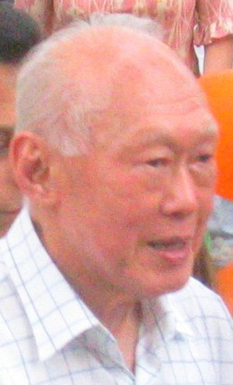 Cabinet of Singapore - Lee Kuan Yew, who was elected the first Prime Minister of Singapore in 1959, in a 2005 photograph