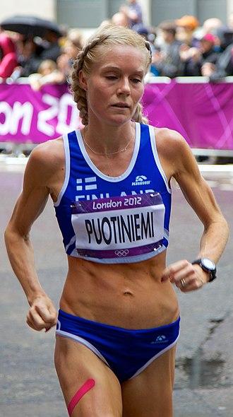 Finland at the 2012 Summer Olympics - Leena Puotiniemi in women's marathon