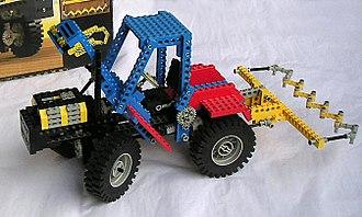 Lego Technic - Early example of LEGO Technic.