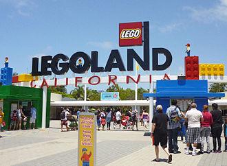 Legoland California - Entrance to Legoland California